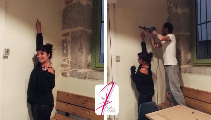 Travail de précision, Pauline Rudolf, architecte d'intérieur Lyon France