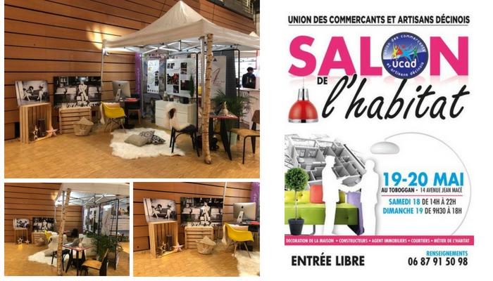 Stand Salon Habitat, Pauline Rudolf, architecte d'intérieur Lyon France