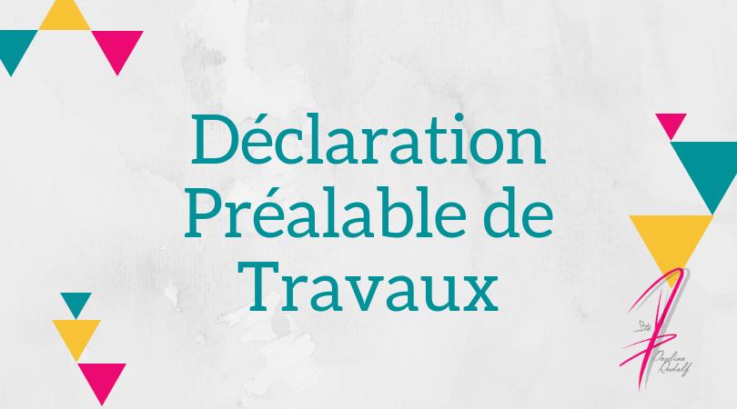 Dossier DP Travaux, Pauline Rudolf, architecte d'intérieur Lyon France