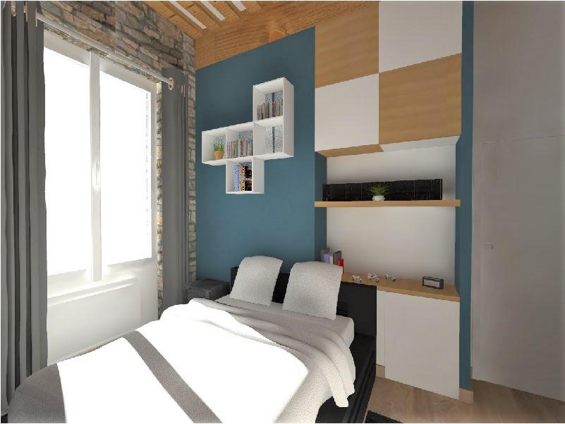 Projet 3D particulier, Pauline Rudolf, architecte d'intérieur Lyon France