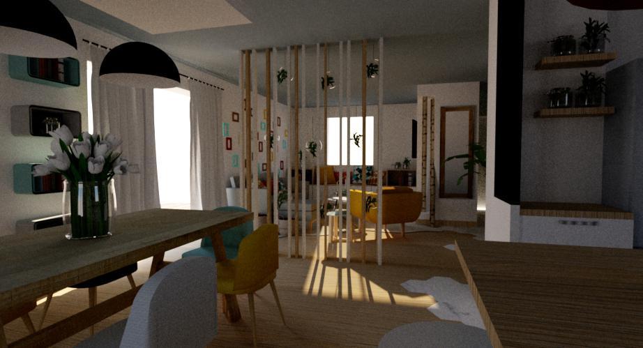 Projet Particulier aménagement maison, Pauline Rudolf, architecte d'intérieur Lyon France