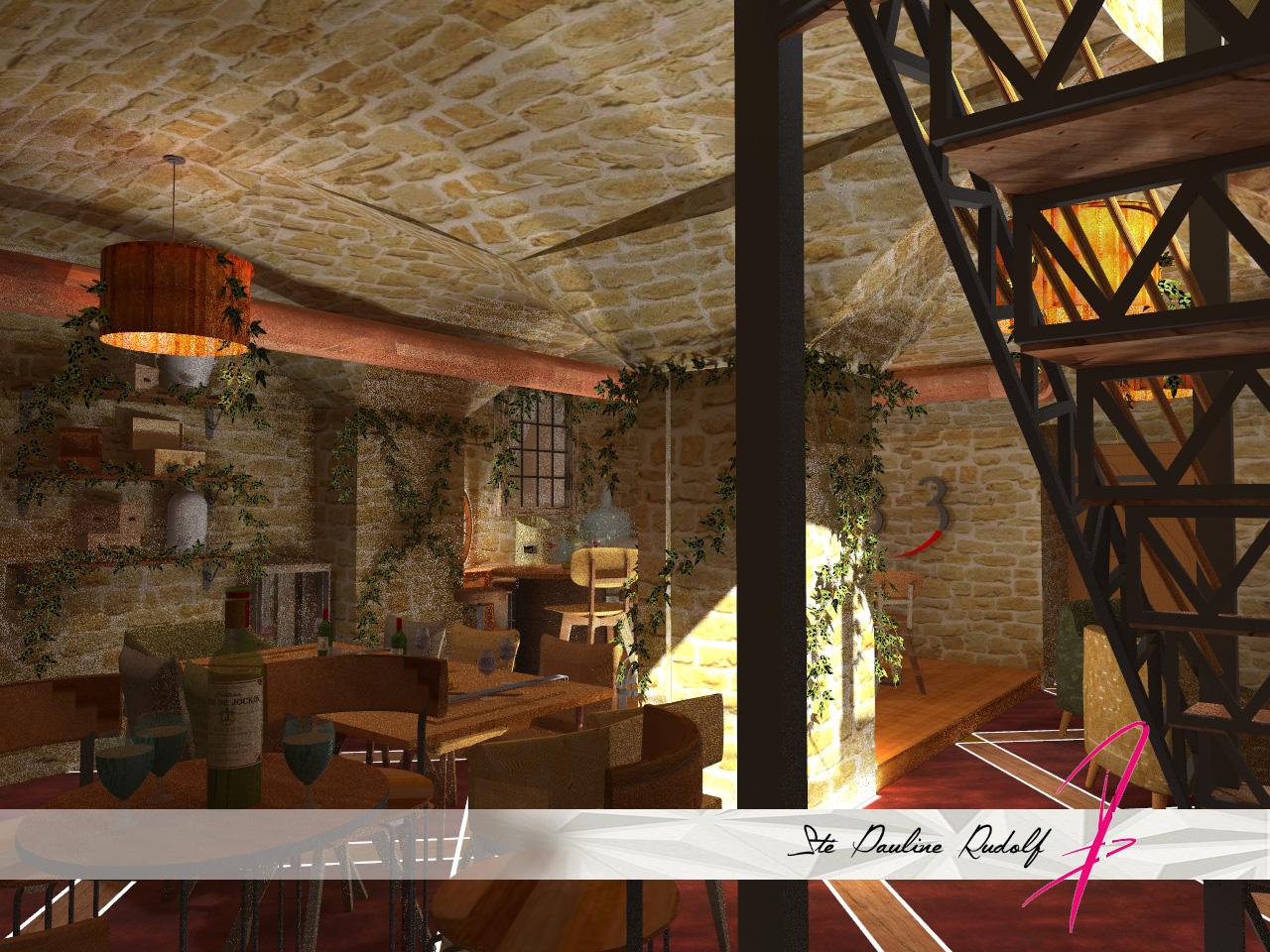 3D Moulin Joli, projet à Lyon, Pauline Rudolf Architecte d'intérieur Lyon
