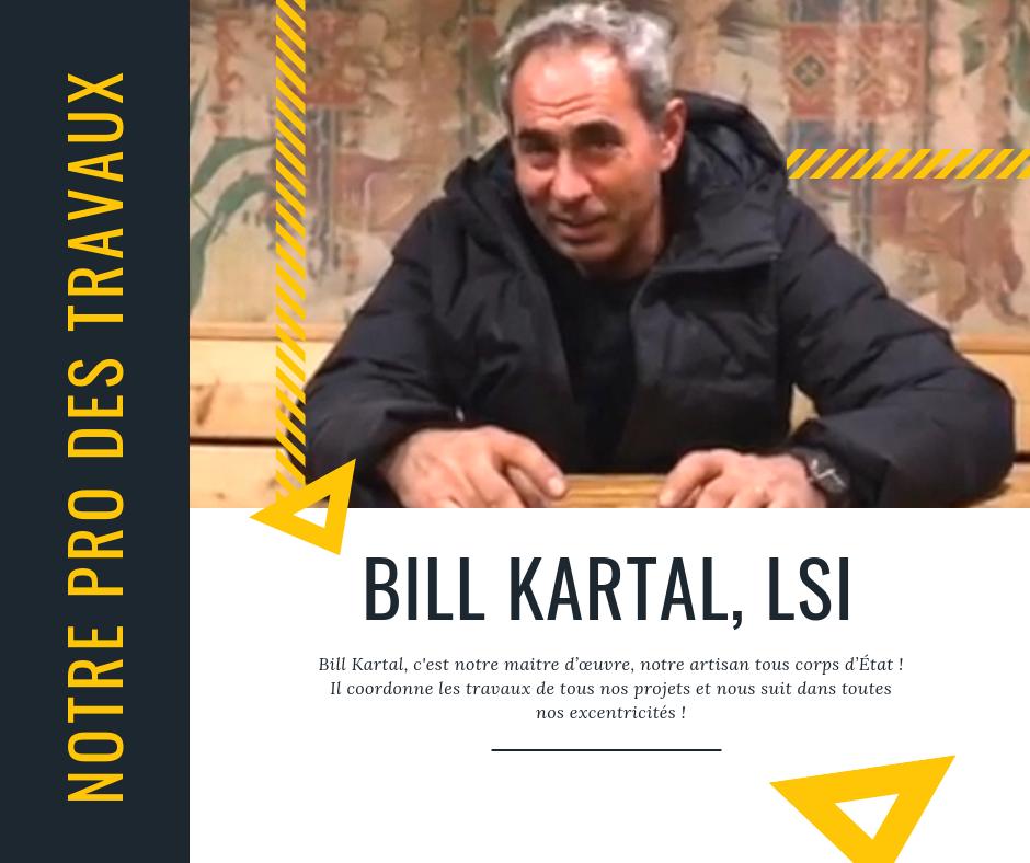 Bill Kartal Partenaire Maitre d'oeuvre, Pauline Rudolf, architecte d'intérieur Lyon France