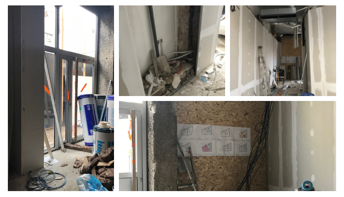 Zagros restauration rapide projet Pauline Rudolf Architecte d'interieur Lyon