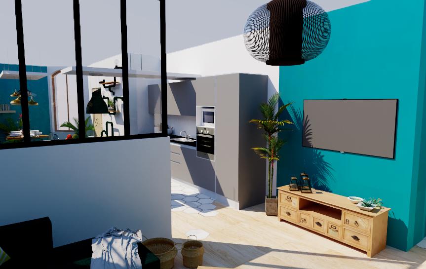 Home statging, mise en valeur de biens, Pauline Rudolf, Architecte d'intérieur, région de Lyon