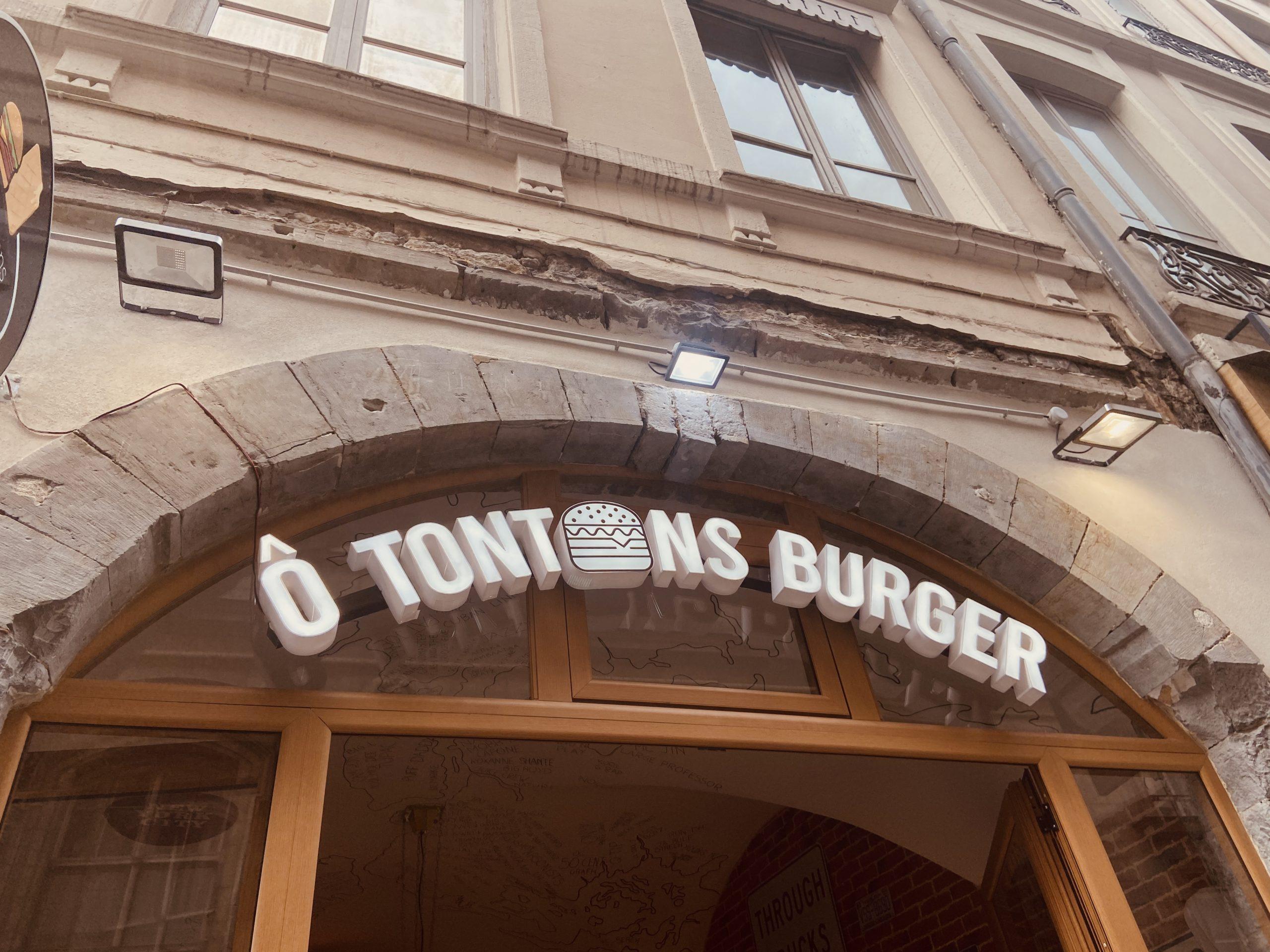 Réalisation Projet ô tontons burger, Pauline Rudolf, Architecte d'intérieur, Lyon