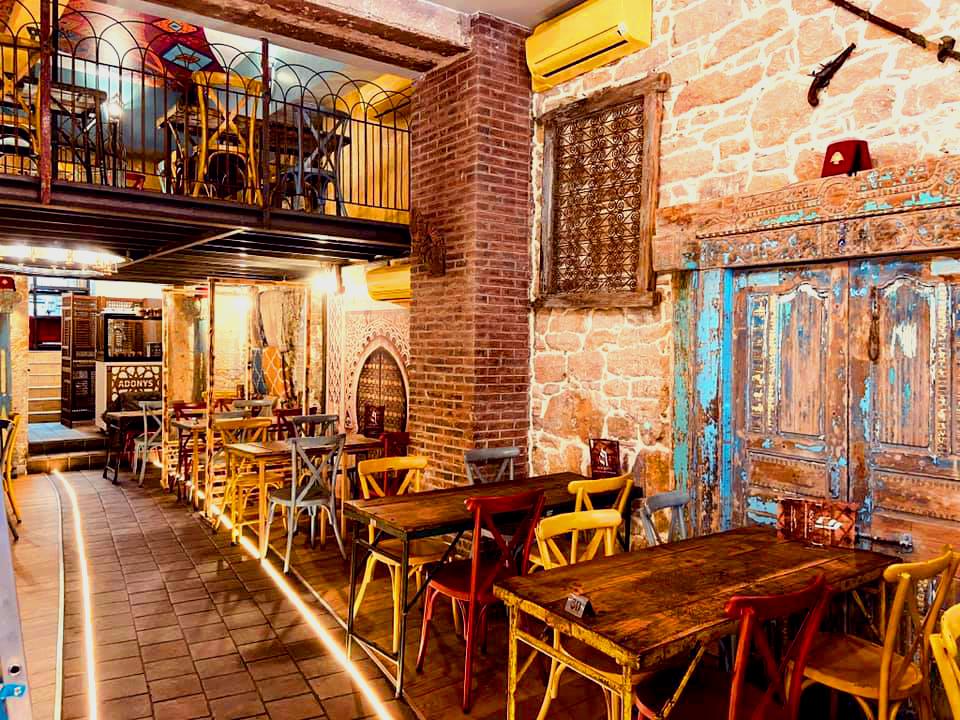 Réalisation Projet Adonys restaurant rue puits gaillot, travaux rénovation, Pauline Rudolf, Architecte d'intérieur, Lyon