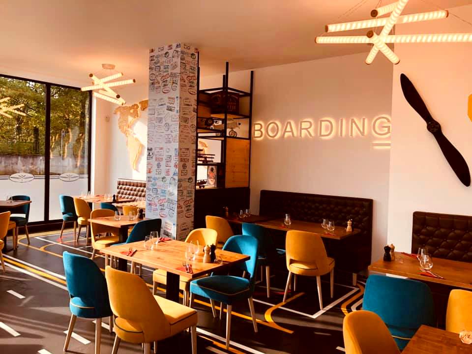 Aménagement restaurant realisation, Pauline Rudolf, Architecte d'intérieur, région de Lyon