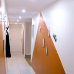 Renovation appartement Lyon 6e couloir entrée