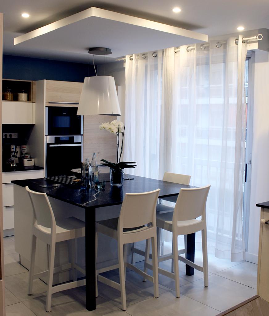 Renovation appartement Lyon 6e cuisine moderne, SARL Pauline Rudolf, Les Paupiettes