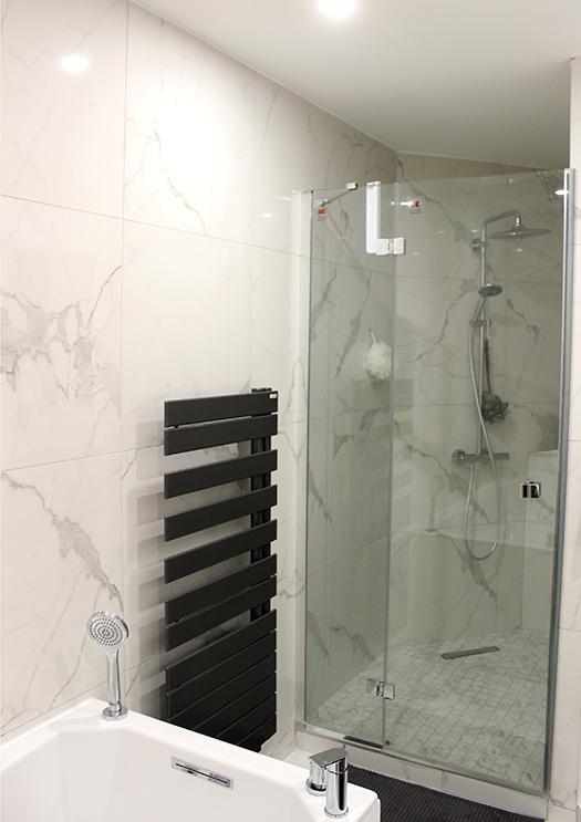 Renovation appartement Lyon 6e salle de bain