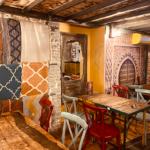 Amenagement décoration colorée salle 2 , Adonys, restaurant libanais lyon