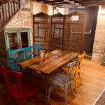 Amenagement décoration colorée salle , Adonys, restaurant libanais lyon