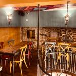 Amenagement decoration orientale salle étage, Adonys, restaurant libanais lyon