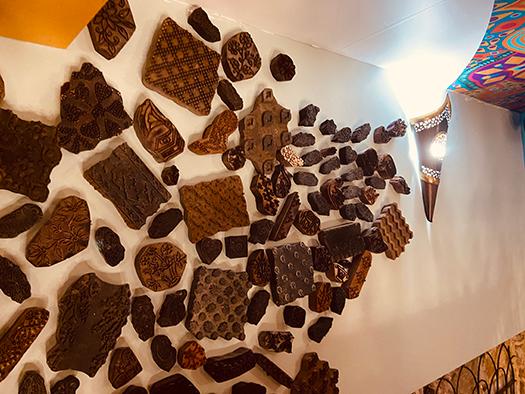 Amenagement decoration sur mesure salle étage 2, Adonys, restaurant libanais lyon