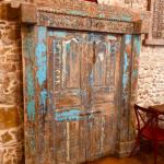 Amenagement upcycling porte orenments salle , Adonys, restaurant libanais lyon