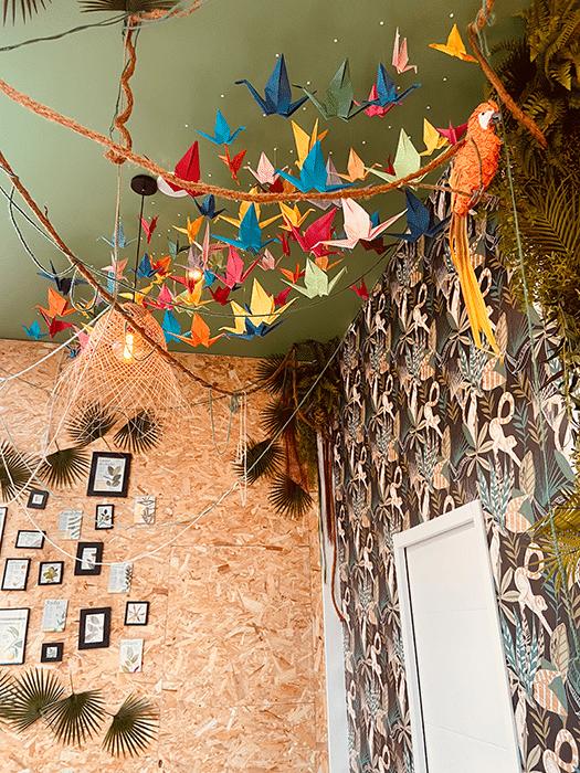 Cafe jungle Lyon 9 décoration aménagement tropical 4