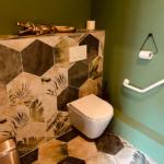 Cafe jungle Lyon 9 sanitaire décoration aménagement tropical 2