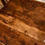 Décoration gravure faite main salle 3, Adonys, restaurant libanais lyon