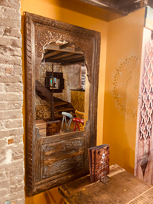 Decoration salle étage, Adonys, restaurant libanais lyon