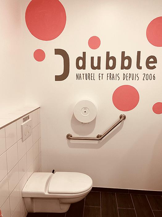 Dubble franchise aménagement sanitaire Lyon 3