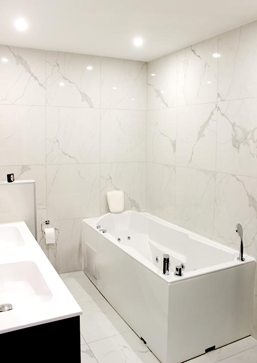 Renovation appartement Lyon 6e salle de bain 2