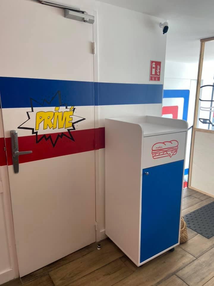 Pauline Rudolf Les Paupiettes, aménagement surface commerciale, restaurant snack Made in France Lyon