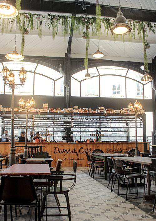 Pauline Rudolf - Les Paupiettes - améngament zone commerciale Halles Mazerat - Saint Etienne