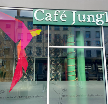 enseigne architecte café jungle lyon
