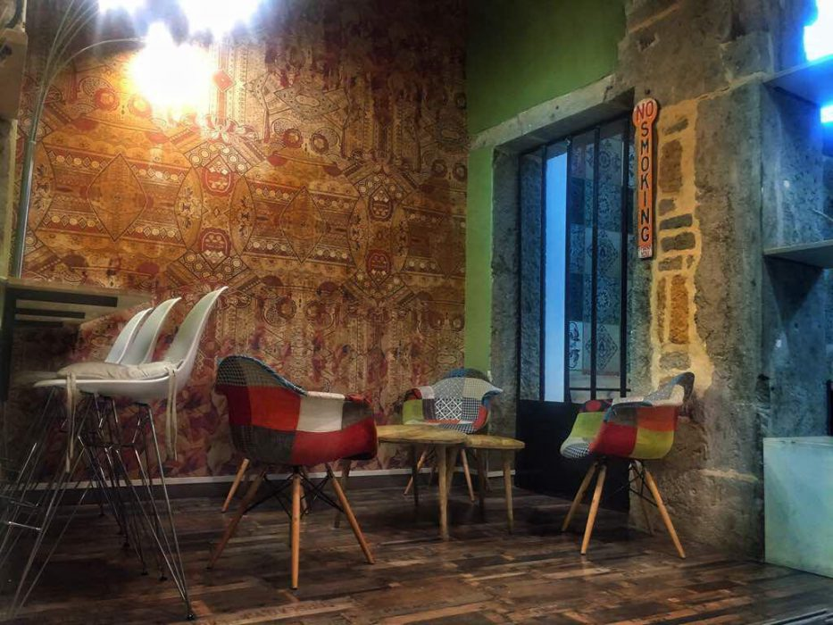 Projet restaurant Lyon Diwan, Pauline Rudolf, architecte d'intérieur Lyon France