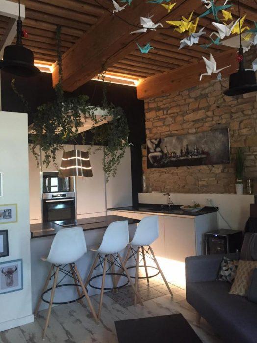 Aménagement appartement, Pauline Rudolf, architecte d'intérieur Lyon France